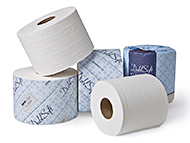 DublSoft Single Roll Bath Tissue
