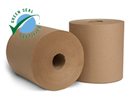 EcoSoft Natural Roll Towel